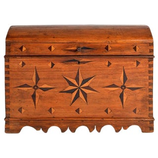 18th Century Spanish Dome Top Trunk For Sale