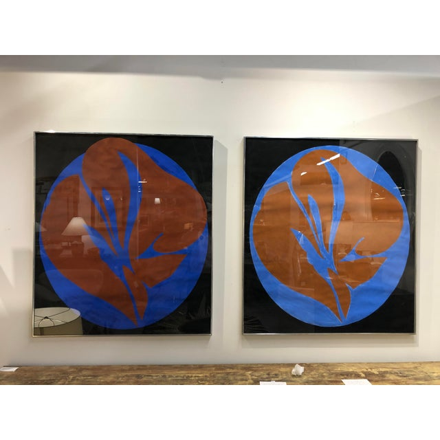 Paint Pair Jack Youngerman Abstract Painting For Sale - Image 7 of 7