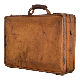 Leather Hartman Luggage Briefcase C.1950 For Sale