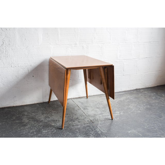 Paul McCobb Drop Leaf Dining Table - Image 9 of 9
