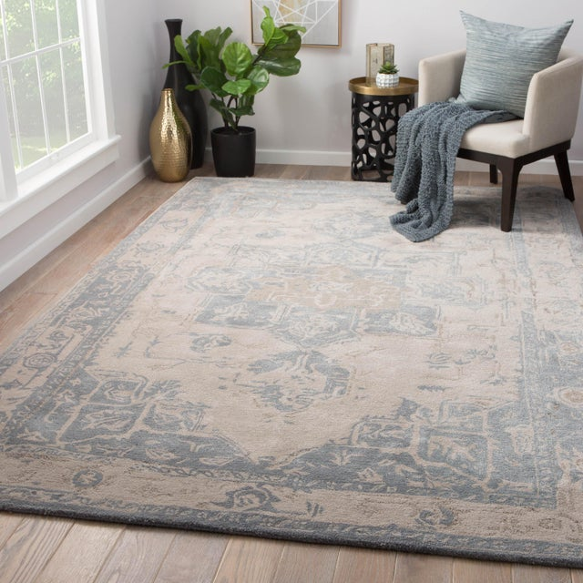 2010s Jaipur Living Wallace Handmade Medallion Area Rug - 10′ × 14′ For Sale - Image 5 of 6