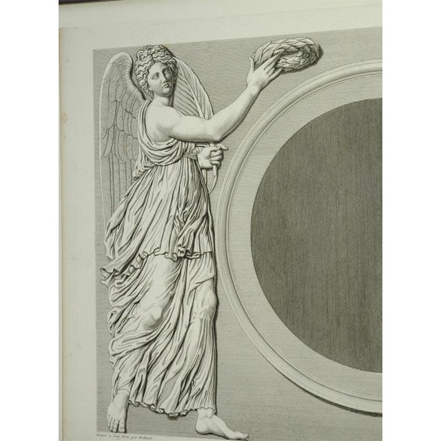 Engraving Early 19th Century Prints of the Louvre by Baltard - Set of 4 For Sale - Image 7 of 10