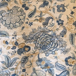 """Colefax and Fowler 1 3/8 Yds of """"Colmar"""" Fabric"""