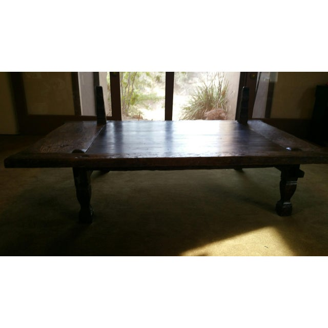 Teak Coffee Table From Bali - Image 4 of 5