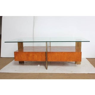 Modern Wood & Metal Coffee Table Preview
