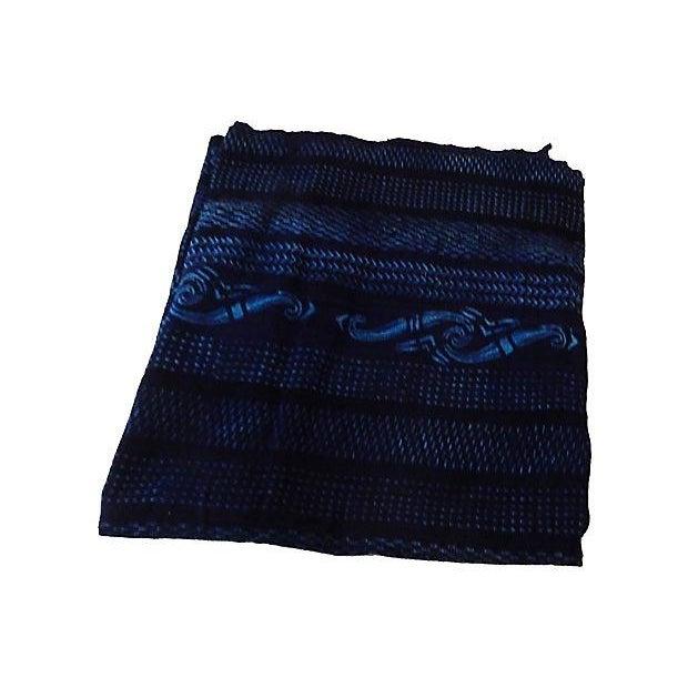 Indigo Mali Textiles - A Pair - Image 3 of 8