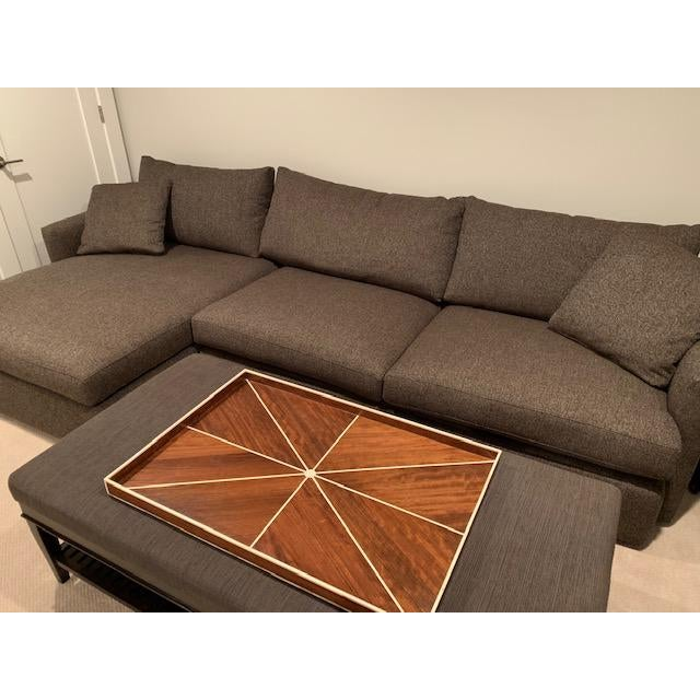 Cool Crate Barrel Lounge Ii Petite 2 Piece Sectional Sofa Beatyapartments Chair Design Images Beatyapartmentscom