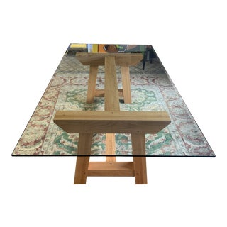 Contemporary Farm House Dining Table For Sale