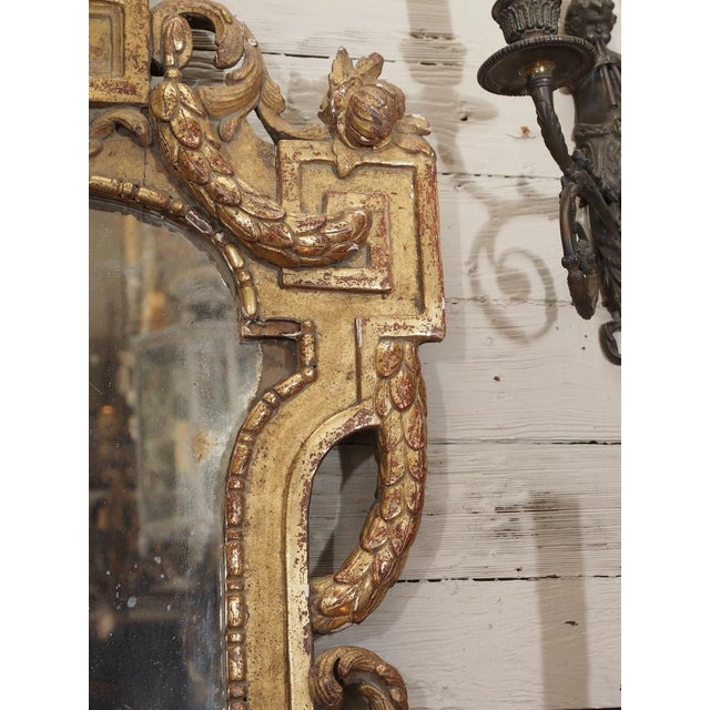 19th Century Italian Carved Giltwood Mirror - Image 5 of 7