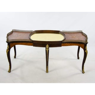 French Provincial Inlaid Walnut and Ormolu Coffee Table Preview