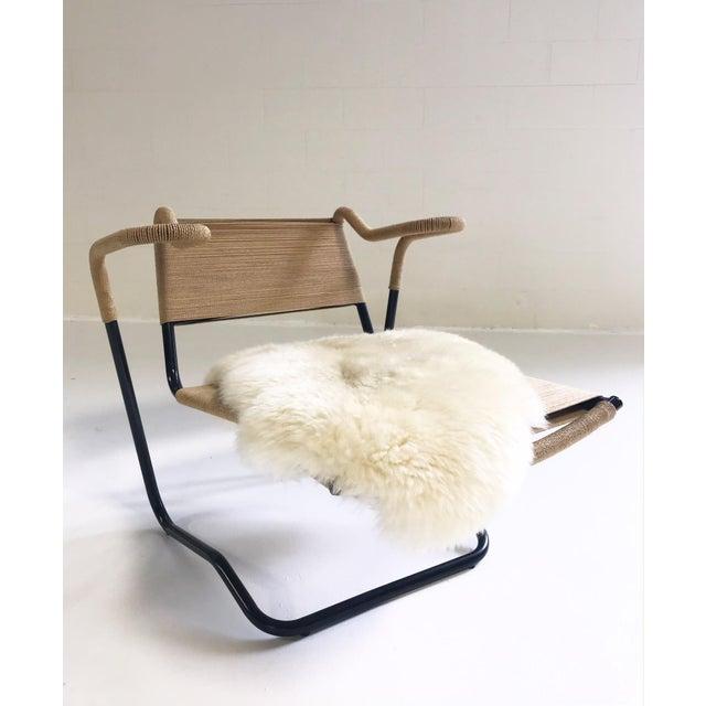 Dan Johnson for California Living Model 2750 Lounge Chair With Brazilian Sheepskin For Sale - Image 9 of 9