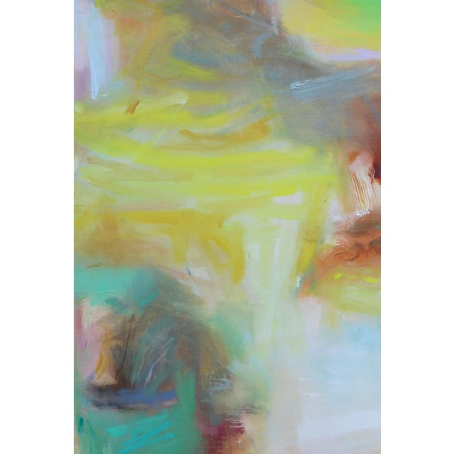 "Abstract ""Appalachian Spring"" Large Abstract Expressionist Oil Painting For Sale - Image 3 of 13"