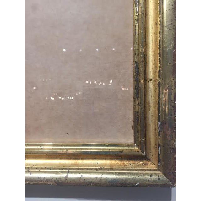 """Abstract Vintage Art 'Israel"""" in Antique Frame by Michael Gross For Sale - Image 3 of 6"""