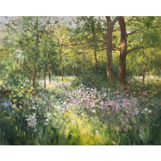 "Thomas McNickle ""In Spring"" Contemporary Traditional Impressionist Oil Painting For Sale"
