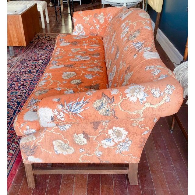 Textile Vintage Baker Camelback Sofa For Sale - Image 7 of 12