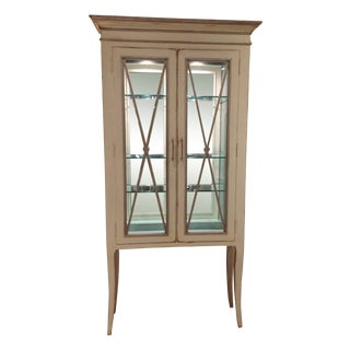 Habersham Adrienne Lighted Display Cabinet