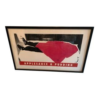 Richard Duardo Applesauce and Pudding Framed Art For Sale