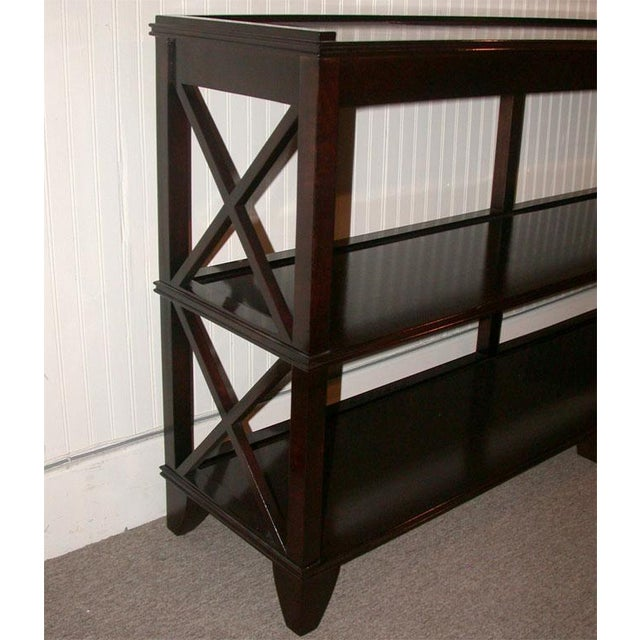 Regency Style Console With Shelving - Image 2 of 8