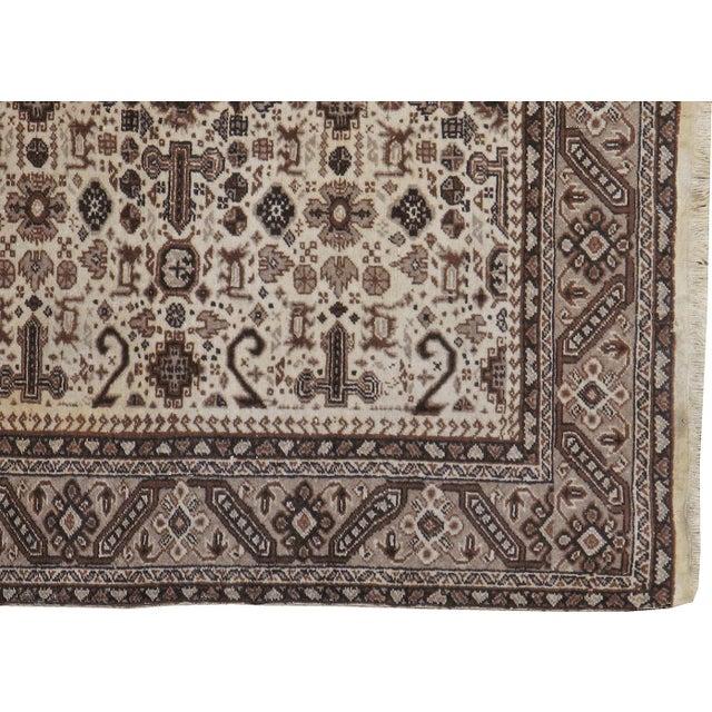 "Tribal Vintage Persian Tabriz Rug- 3'10"" x 5'7"" For Sale - Image 3 of 3"