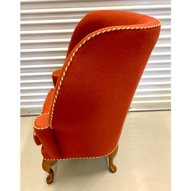 Minton Spidell Papa Bear Upholstered Chair Sculptural Wingback Chair For Sale In New York - Image 6 of 12