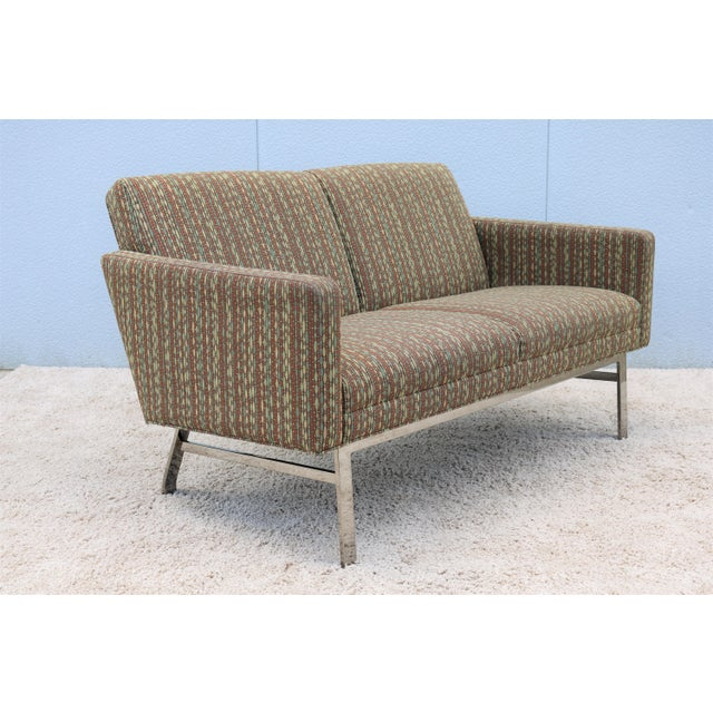 2000 - 2009 Mid-Century Modern Jack Cartwright Kelly Settee For Sale - Image 5 of 13