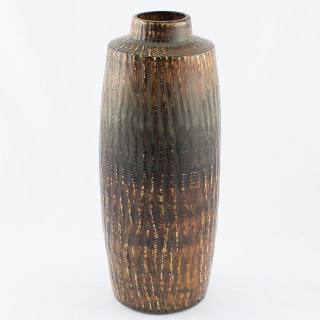"Mid-Century Modern Gunnar Nylund for Rørstrand ""Rubus"" Floor Vase Circa 1950s For Sale - Image 3 of 10"