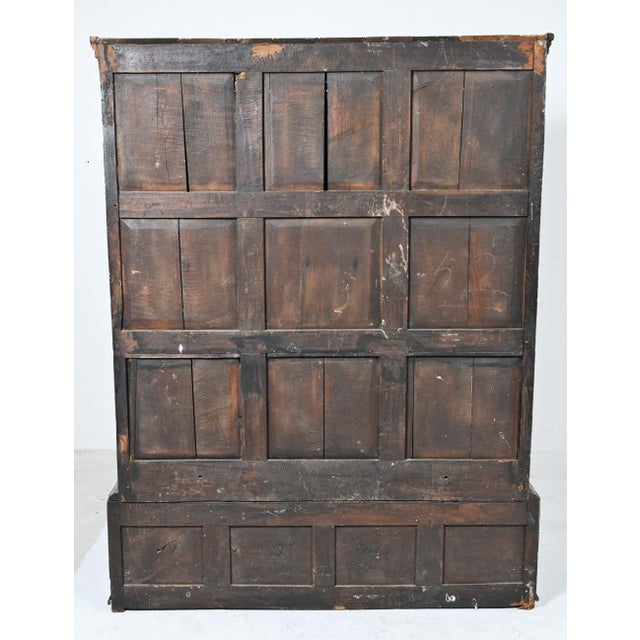 Late 18th Century 1770 English Oak Cupboard/Livery Cabinet For Sale - Image 5 of 12