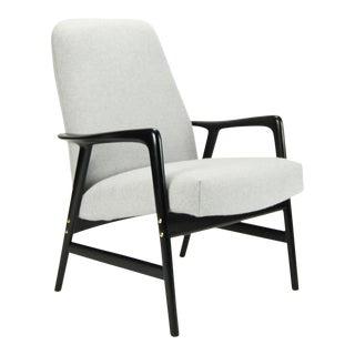 "Alf Svensson for Dux Danish Modern ""Kontour"" Armchair For Sale"