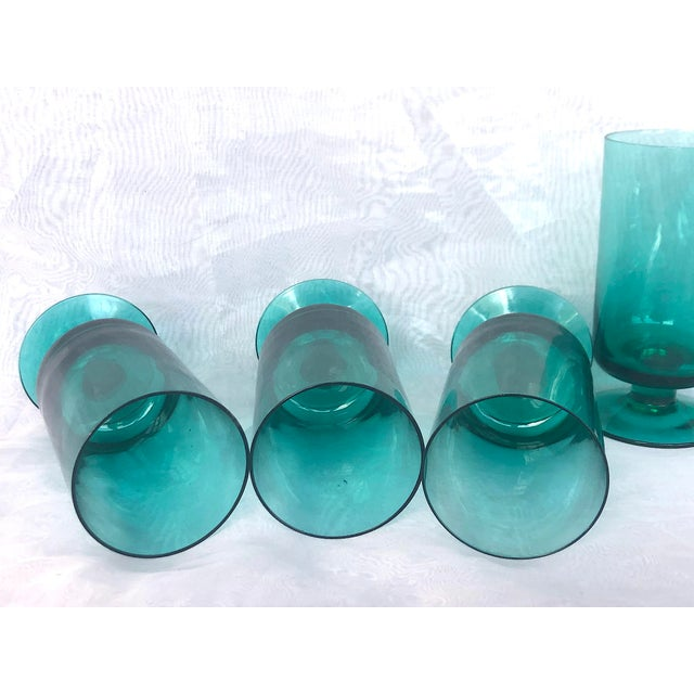 1950s Hand-Blown Swedish Juice Glasses- Set of 6 For Sale - Image 11 of 13