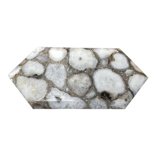 Organic Modern Agate Tray or Cheeseboard For Sale