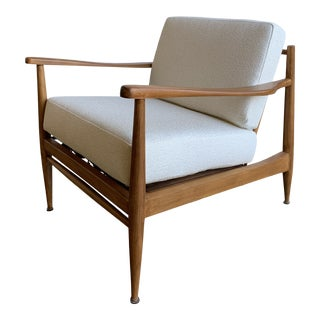 Mid Century Lounge Chair by Dux For Sale