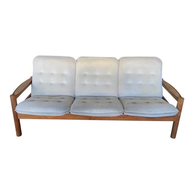 de1208fbad4d Domino Mobler Mid-Century Danish Modern Teak Sofa For Sale