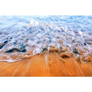 """""""Shifting Sands"""" Contemporary Seascape Photograph by George Diebold For Sale"""