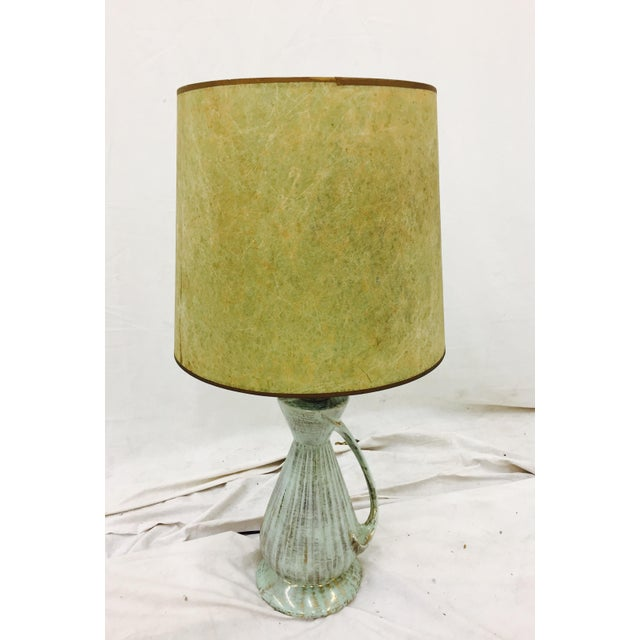 Mid-Century Modern Atomic Style Lamp For Sale - Image 4 of 11