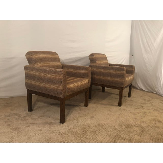 1980s Vintage Milo Baughman Conference Chairs- A Pair For Sale - Image 13 of 13
