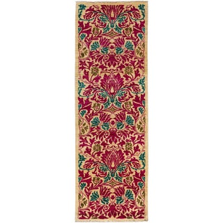 """Arts & Crafts, Hand Knotted Runner - 2'8"""" X 8'1"""" For Sale"""