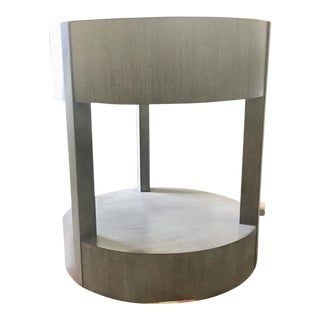 Rustic Calder Chairside Table For Sale