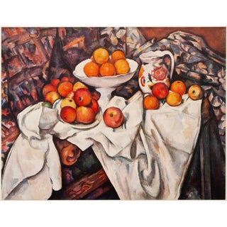 "1950s Paul Cezanne ""Still Life With Apples and Oranges"" First Edition Photogravure For Sale"