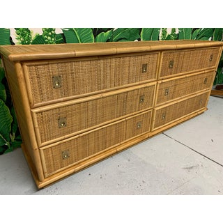 Bamboo and Woven Rattan Double Dresser Preview