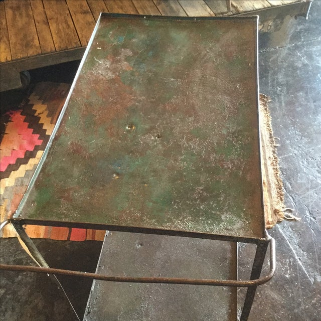 Industrial Bar Cart - Image 7 of 10