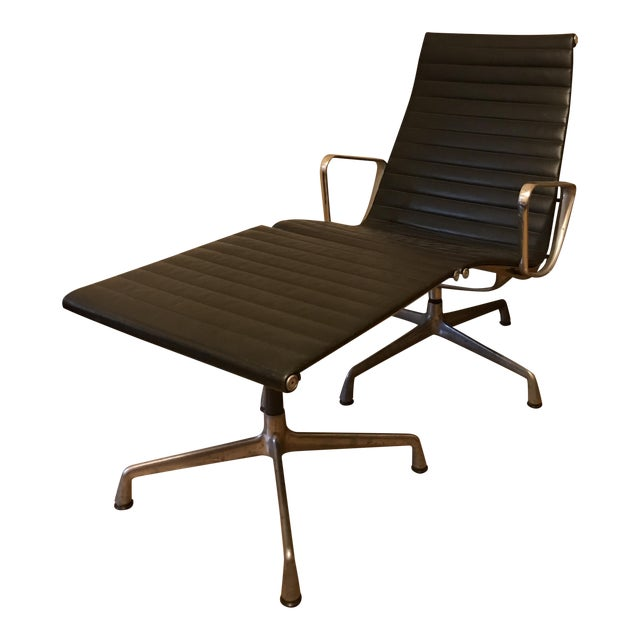 Eames for Herman Miller Aluminum Lounge Chair & Ottoman - Image 1 of 11