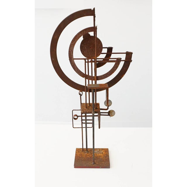 Frank Cota Brutalist Sculpture - Image 2 of 7