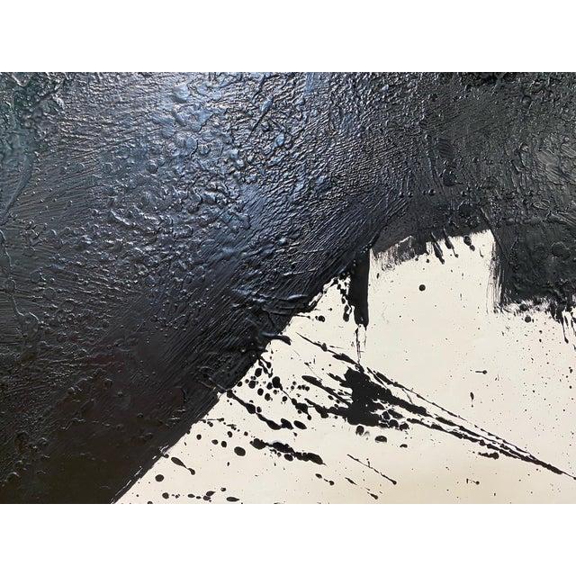"2020s Exclusive John O'Hara ""Tar, 14"" Encaustic Painting For Sale - Image 5 of 8"