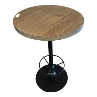 Industrial Sarreid Ltd Dalla Bar Height Bistro Table For Sale