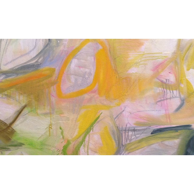 """Sun Valley"" Abstract Painting by Trixie Pitts - Image 3 of 3"