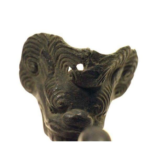 Original Black Swirl Design Hooks - Set of 4 For Sale - Image 5 of 5