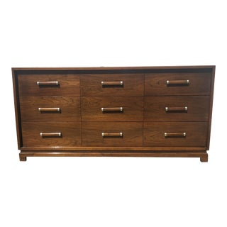 American of Martinsville Mid Century Low Dresser For Sale