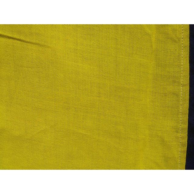 Vintage Sailing Signal Flag For Sale - Image 11 of 11