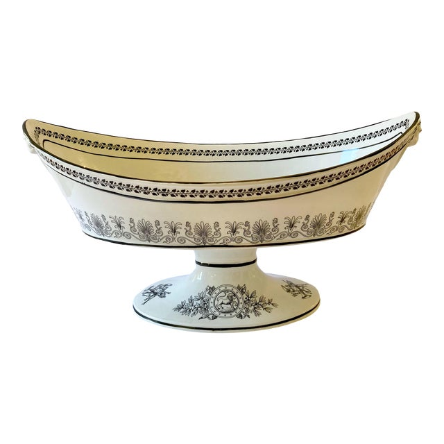 Mottahedeh Italian Pedestal Bowl For Sale