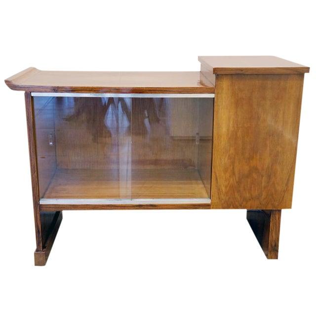Art Deco Walnut Cabinet - Image 1 of 10